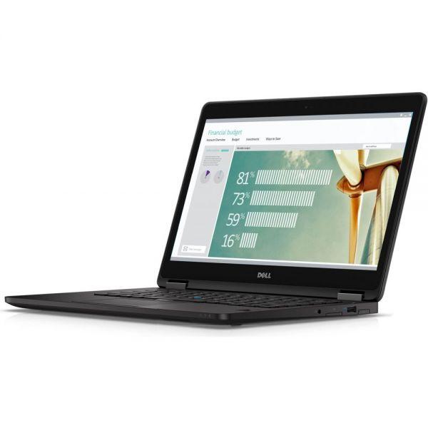 """Dell Latitude 7000 E7270 12.5"""" Ultrabook - Intel Core i5 i5-6300U Dual-core (2 Core) 2.40 GHz - Black"""