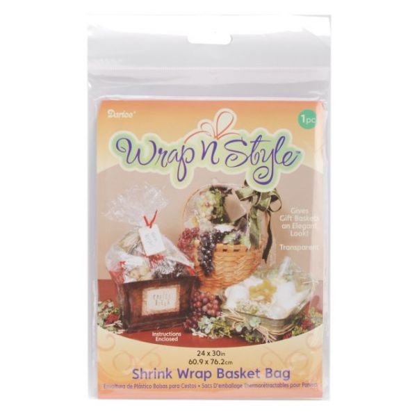Darice Shrink Wrap Basket Bag