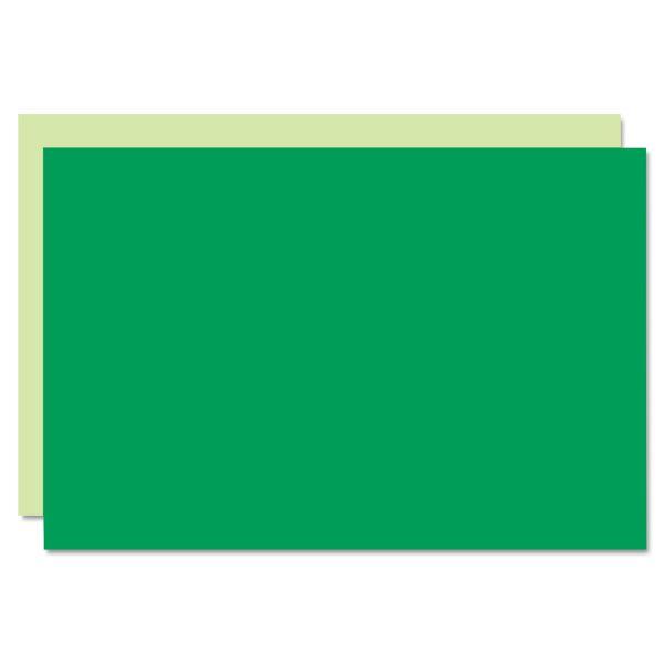 Eco Brites Too Cool Foam Board, 20x30, Light Green/Green, 5/Carton