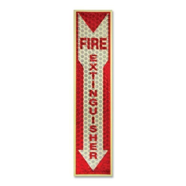 Miller's Creek Luminous Fire Extinguisher Sign