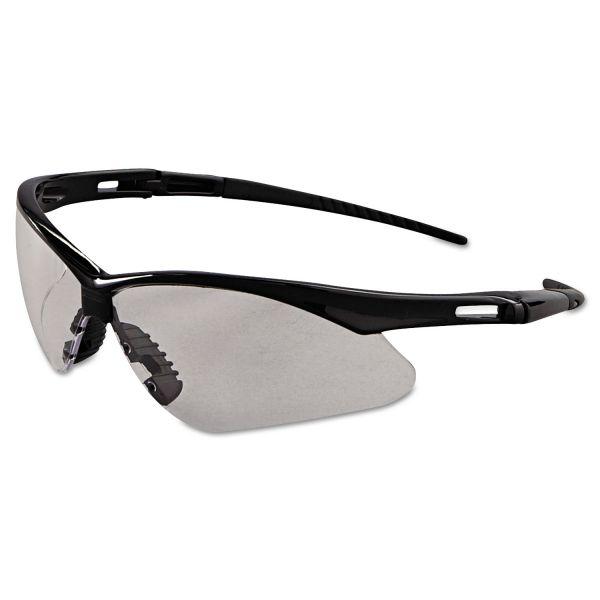 Jackson Safety* Nemesis Safety Glasses, Black Frame, Clear Anti-Fog Lens