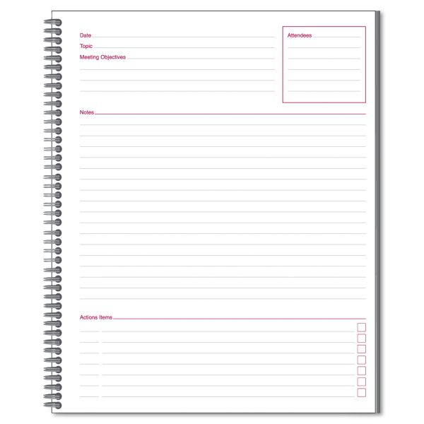 Mead Limited Meeting Notebooks