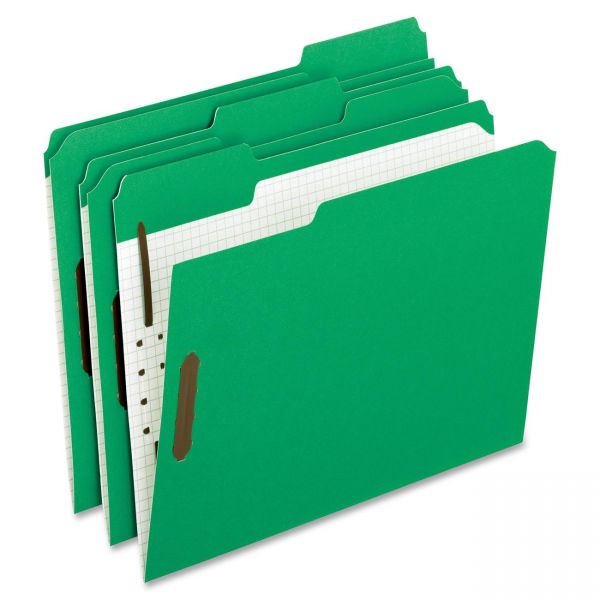 Pendaflex Reinforced Top Tab Folders With Fasteners