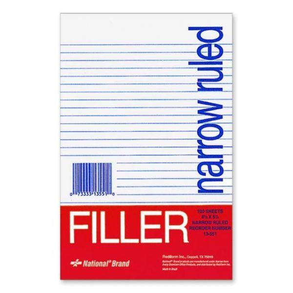 Rediform Standard Ruled Filler Paper