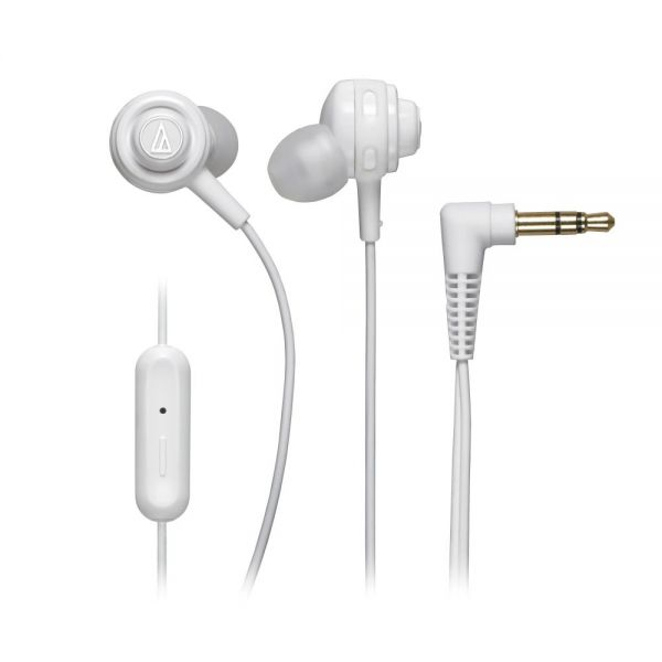Audio-Technica SonicSport In-ear Headphones with In-line Mic & Control
