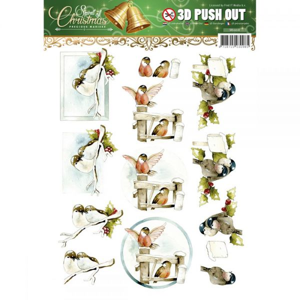 Find It Trading Precious Marieke Punchout Sheet