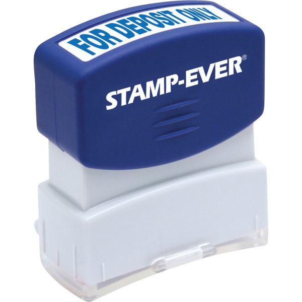 Stamp-Ever Pre-inked For Deposit Only Stamp