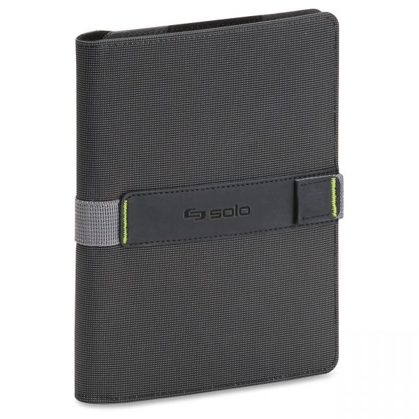 """Solo Surge Universal Tablet Case for 5.5"""" to 8.5"""" Tablets, Black/Gray"""