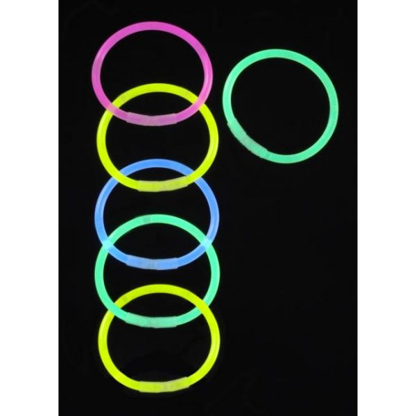 Glow Sticks Bracelet 6/Foil Bag