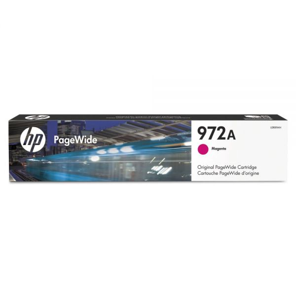 HP 972A Magenta Ink Cartridge (L0R89AN)