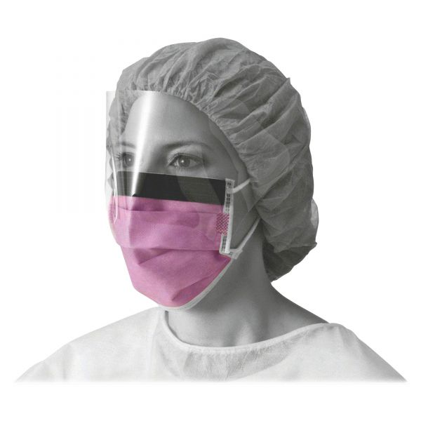 Medline Prohibit Face Masks with Eyeshields
