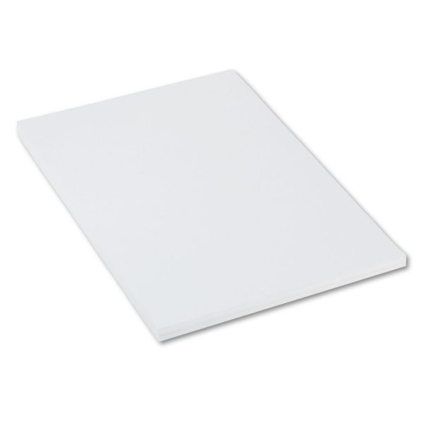 Pacon Heavyweight Tagboard, 36 x 24, White, 100/Pack