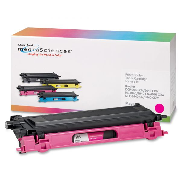 Media Sciences Remanufactured Brother TN115M Magenta Toner Cartridge