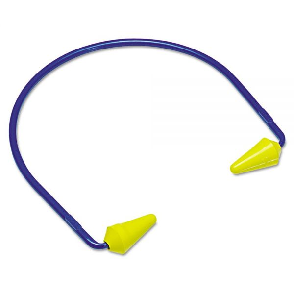 3M CABOFLEX Model 600 Banded Hearing Protector, 20NRR, Yellow/Blue