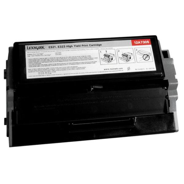 Lexmark 12A7400 Black Return Program Toner Cartridge