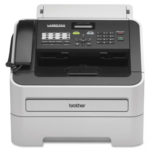 Brother intelliFAX-2840 Laser Fax Machine, Copy/Fax/Print