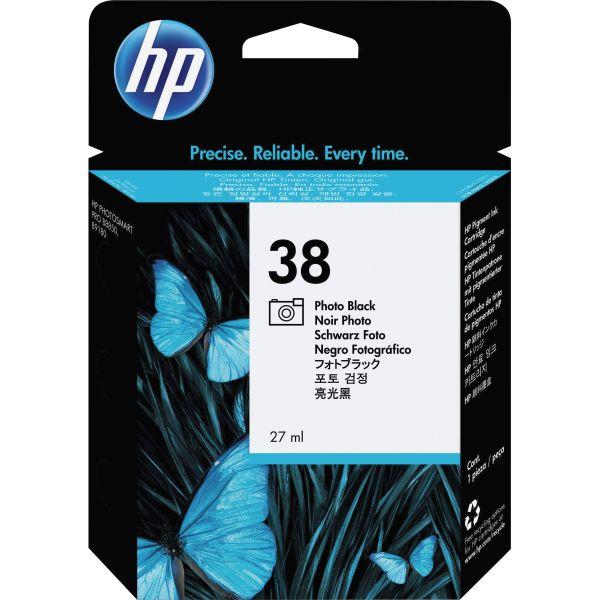 HP 38 Photo Black Ink Cartridge (C9413A)