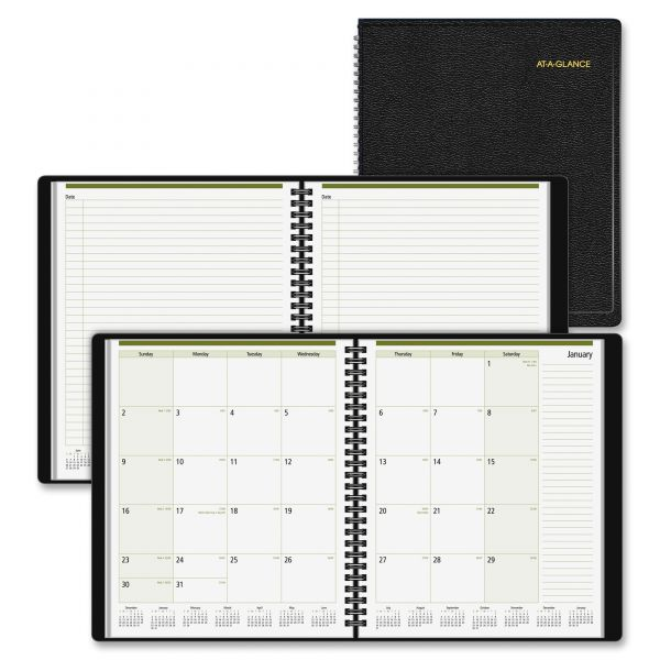 At-A-Glance Notetaker Monthly Planner