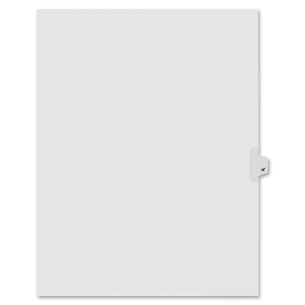 Kleer-Fax 90000 Series Side-Tab Legal Index Dividers