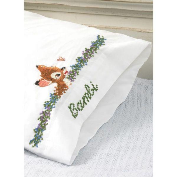 MCG Textiles Disney Dreams Stamped Pillowcases
