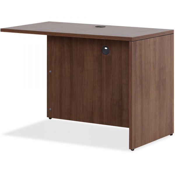 Lorell Walnut Laminate Office Suite Desking