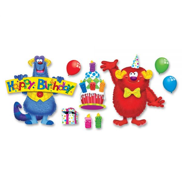 Trend Furry Friends Birthday Fun Bulletin Brd Set