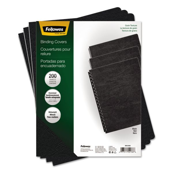 Fellowes Grain Oversized Presentation Binding Covers