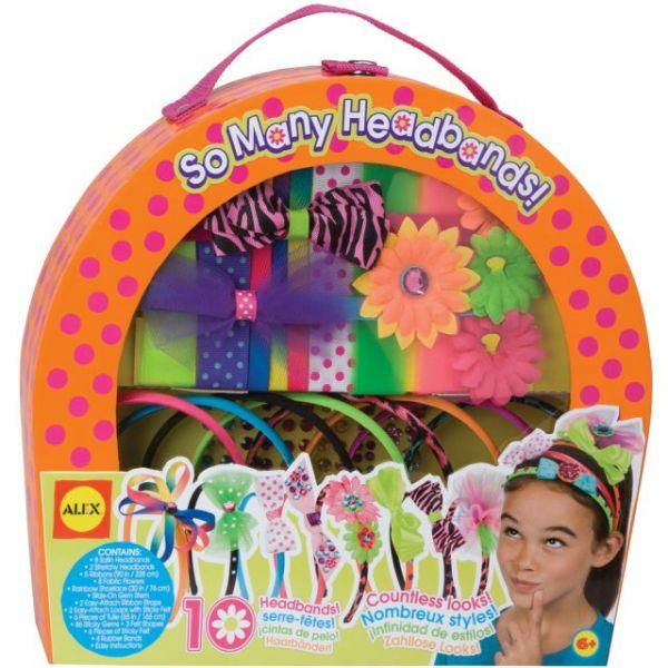 ALEX Toys So Many Headbands Kit