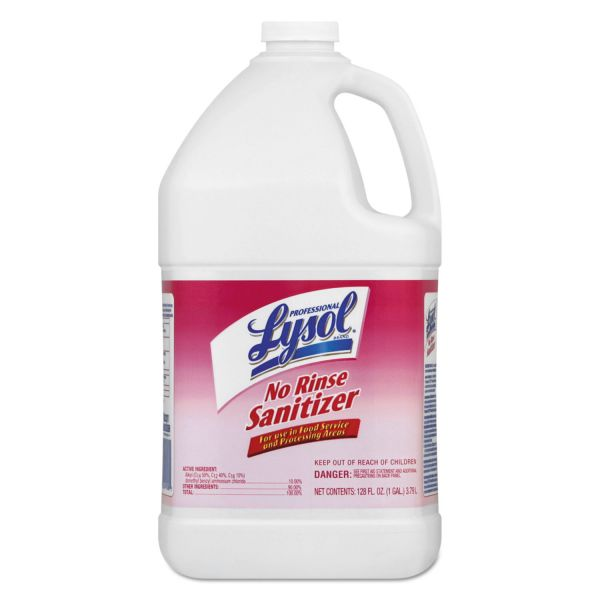Lysol No Rinse Sanitizer