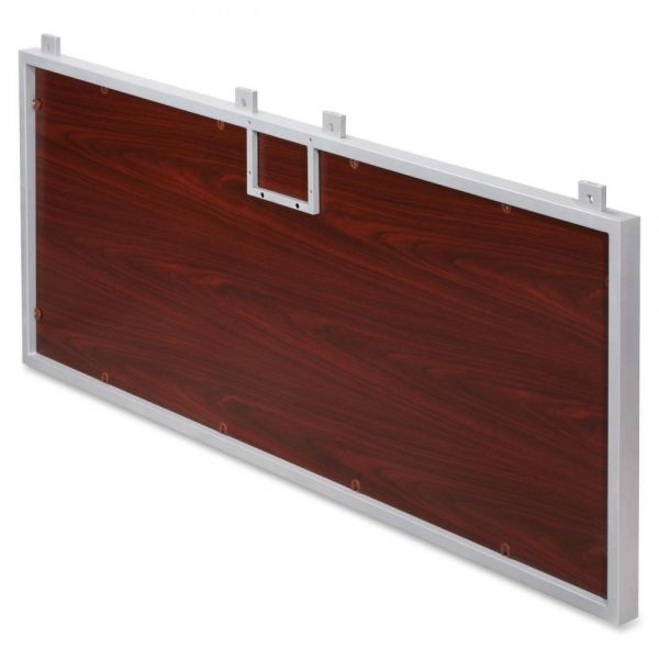 Lorell Concordia Series Laminate Desk Ensemble