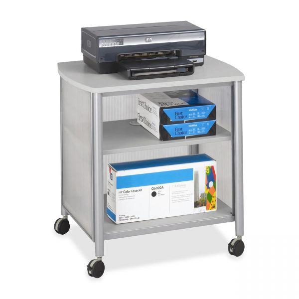 Safco Impromptu Machine Stand, 1-Shelf, 26-1/4w x 21d x 26-1/2h, Silver/Gray