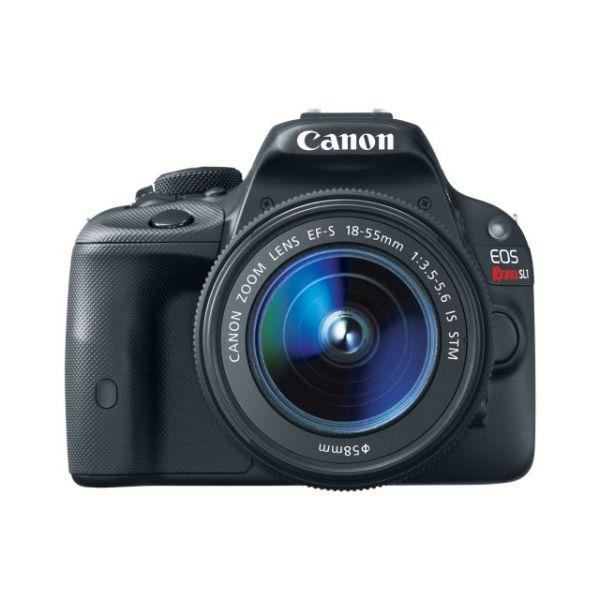 Canon EOS Rebel SL1 18 Megapixel Digital SLR Camera with Lens - 18 mm - 55 mm