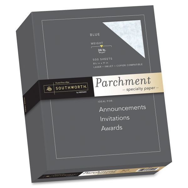 Southworth Fine Blue Parchment Paper