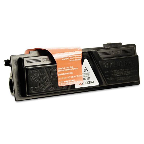 Kyocera TK132 Toner, 7200 Page-Yield, Black
