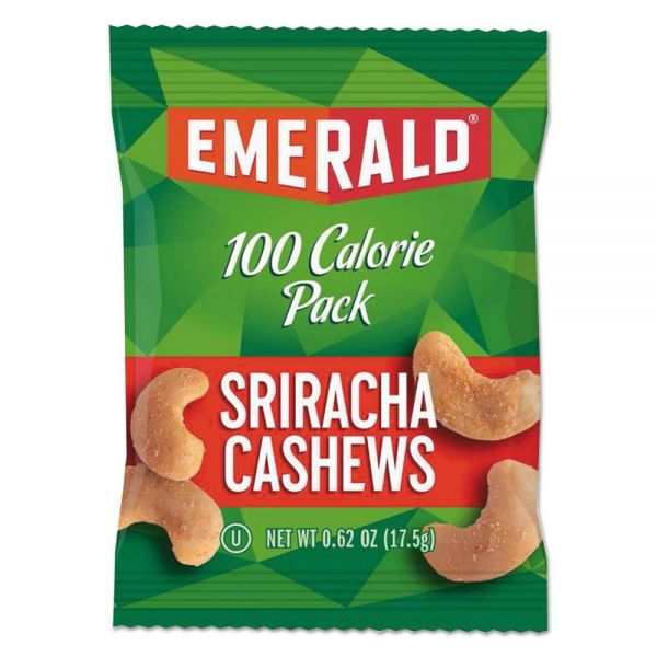 Emerald 100 Calorie Pack Sriracha Cashews