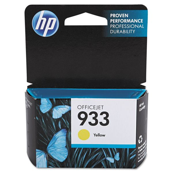 HP 933 Yellow Ink Cartridge (CN060AN)