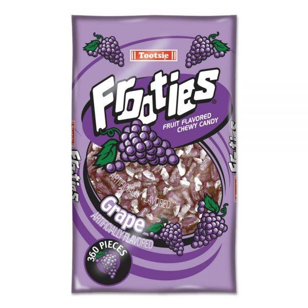 Tootsie Roll Frooties, Grape, 38.8oz Bag, 360 Pieces/Bag