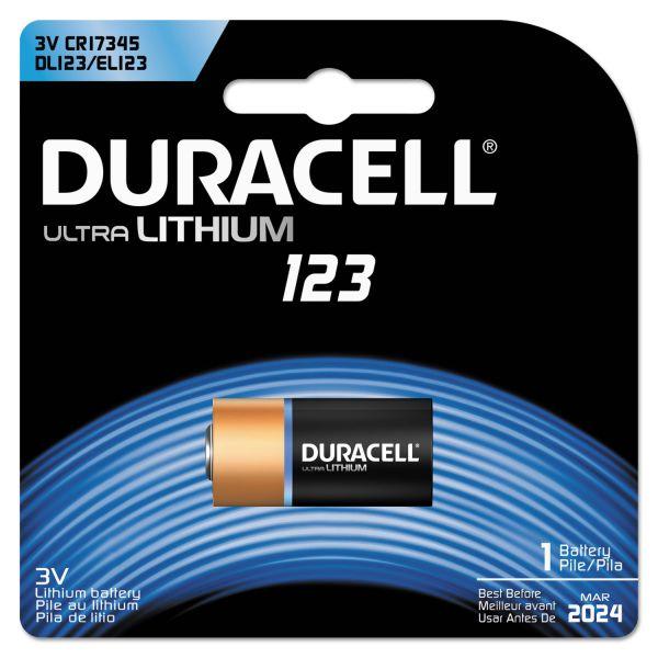 Duracell 123 Ultra Photo Battery
