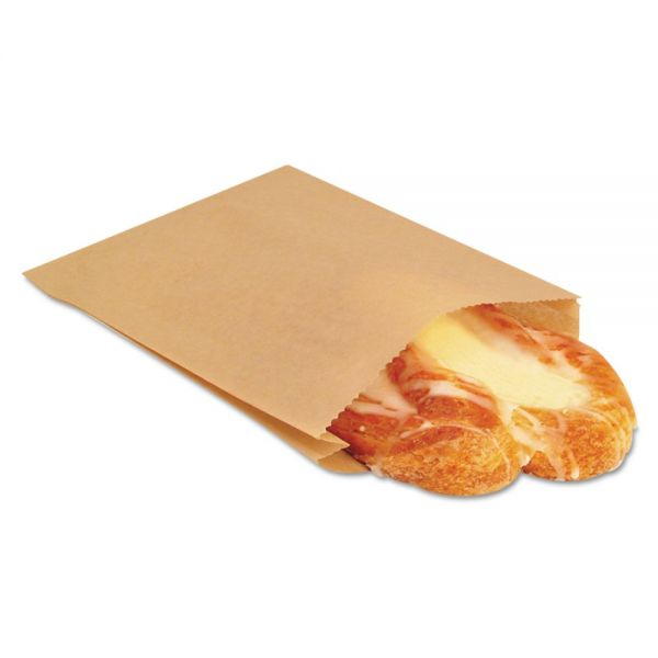Bagcraft Papercon NK25 EcoCraft Grease-Resistant Sandwich Bags