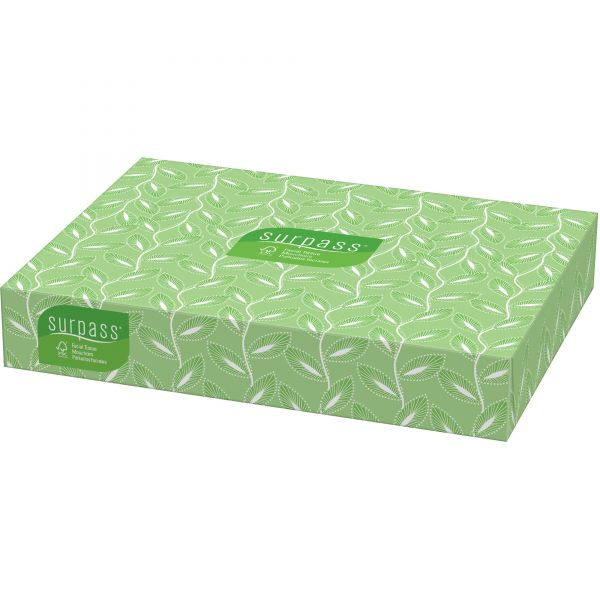 Surpass 2-Ply Facial Tissues