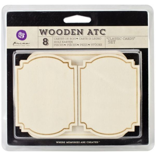 Wooden ATC Cards