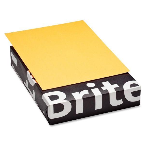 Mohawk Brite-Hue Colored Paper - Ultra Orange