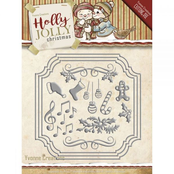 Find It Trading Yvonne Creations Holly Jolly Die
