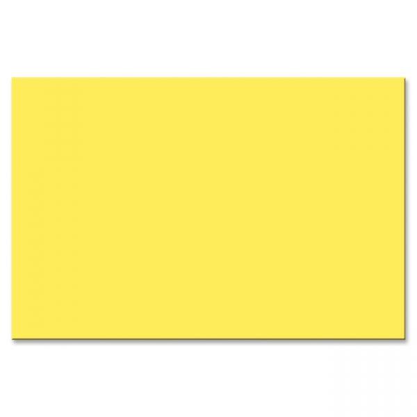 Peacock Sulphite Yellow Construction Paper