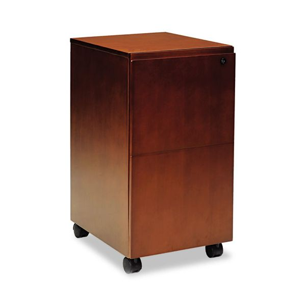 Mayline Stella Series 2-Drawer Mobile File Cabinet