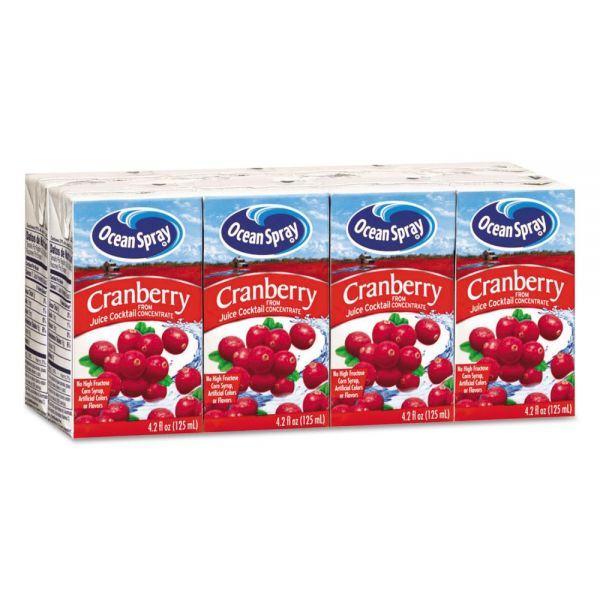 Ocean Spray Cranberry Juice Boxes