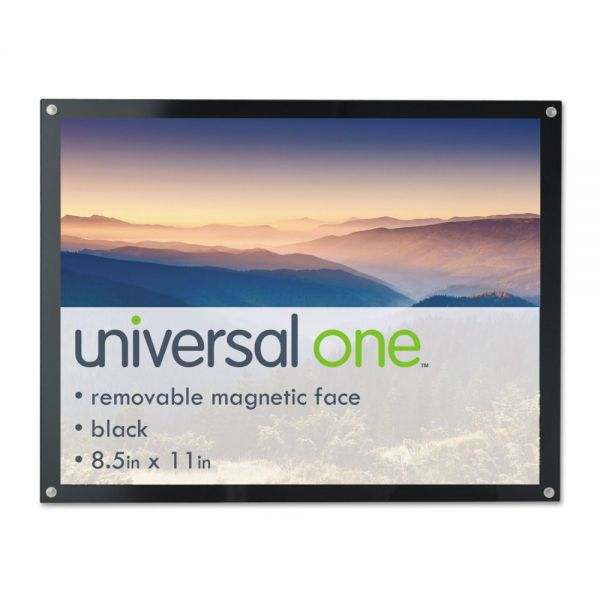 Universal One Magnetic Picture/Certificate Frame