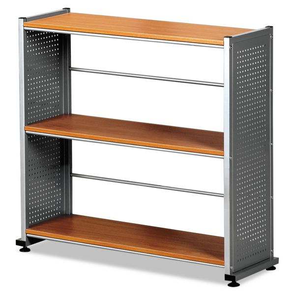 Mayline Eastwinds 993 3-Shelf Steel Accent Bookcase