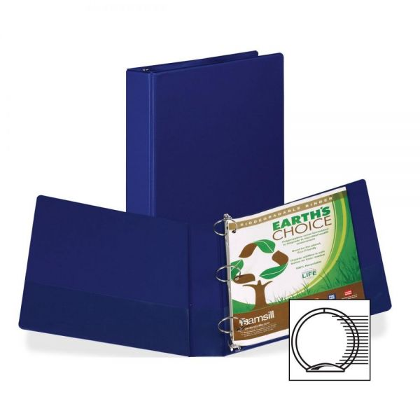 "Samsill 1 1/2"" 3-Ring Storage Binder"