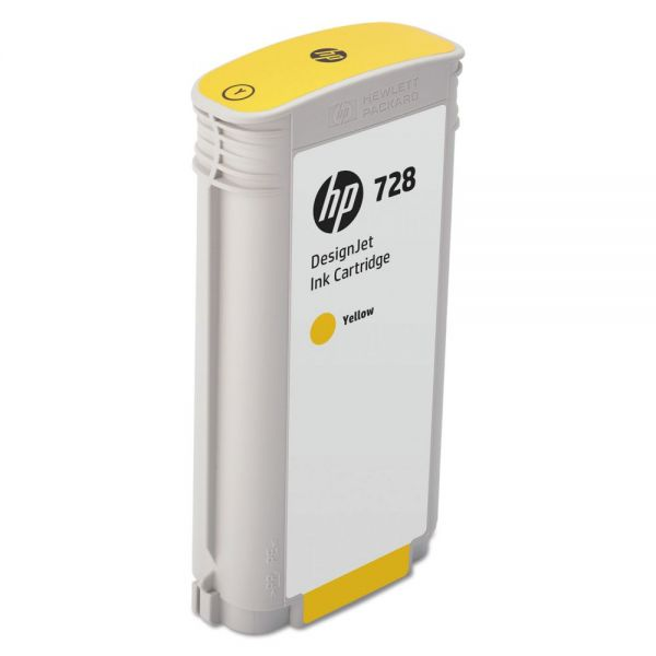 HP 728 Yellow Ink Cartridge (F9J65A)